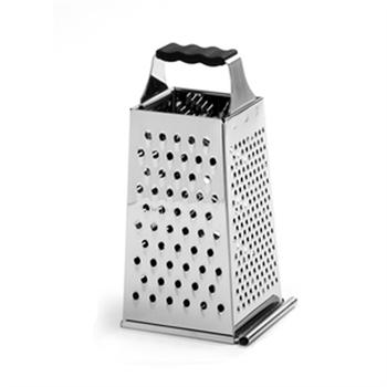 Norpro Stainless Steel 4 Sided Box Grater With Catcher