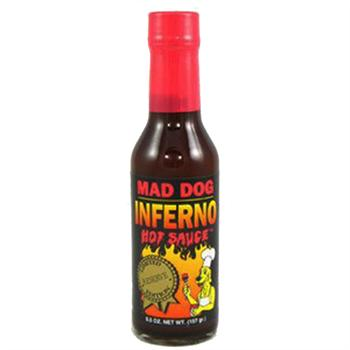 Mad Dog Inferno Hot Sauce, 5.5 Ounce