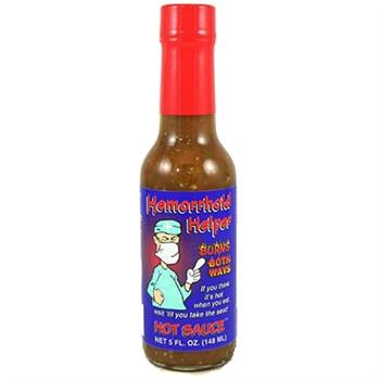 Hemorrhoid Helper Hot Sauce, 5 Ounce