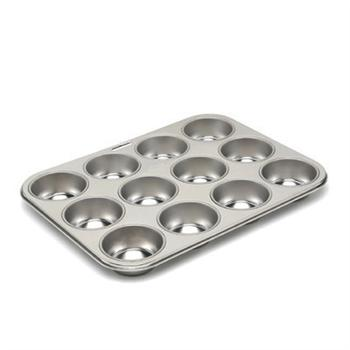Fox Run 12 Cup Tinplate Standard Muffin Pan