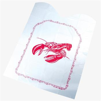Fox Run Disposable Lobster Bibs, Set of Four