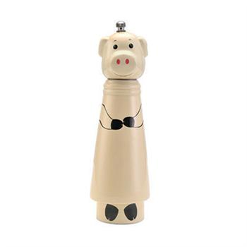 Kamenstein Pig Design Ceramic Pepper Grinder