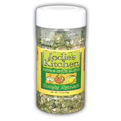 Jodie's Kitchen Herb Spice Blend Simply Spinach, 1.6 Ounce