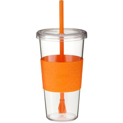 Copco Orange Sierra On The Beach Cold Tumbler