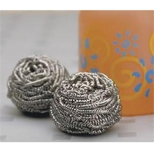 RSVP Endurance Stainless Steel Pot Scrubbies, Set of 2