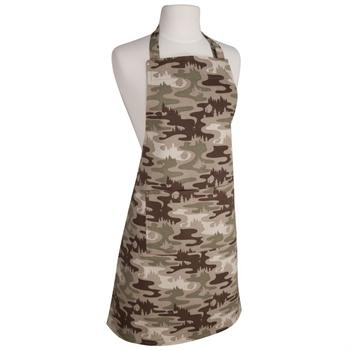 Now Designs Basic Apron, Camouflage