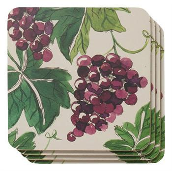 Now Designs Cork Backed Coasters, Valencia, Set of 4