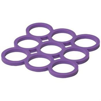 Now Designs Purple Silicone Trivet