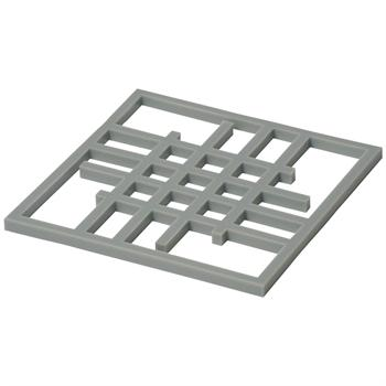 Now Designs London Grey Silicone Grid Trivet