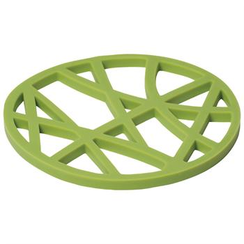 Now Designs Cactus Green Silicone Birds Nest Trivet