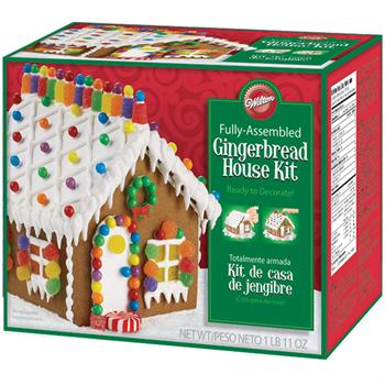 Wilton Pre-Baked and Pre-Assembled Gingerbread House Kit