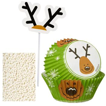 Wilton Reindeer Cupcake Decorating Kit