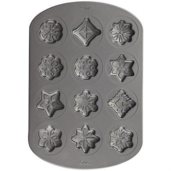 Wilton Snowflake Non-Stick Cookie Pan