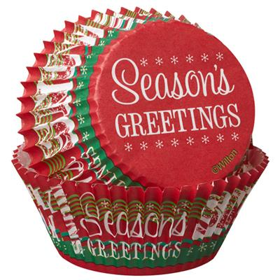 Wilton Seasons Greetings Standard Baking Cups