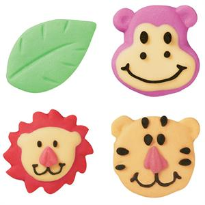 Wilton Jungle Pals Royal Icing Decorations