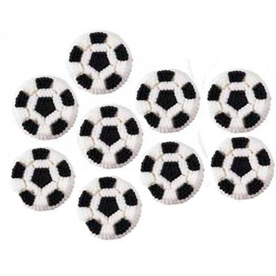 Wilton Soccer Ball Icing Decorations