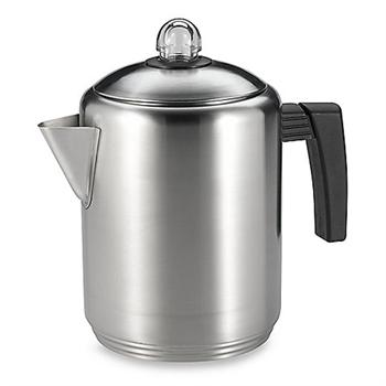 Copco Brushed Stainless Steel Percolator