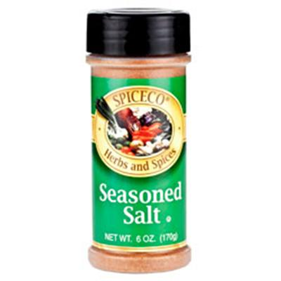 SPICECO Seasoned Salt, 6 Ounce