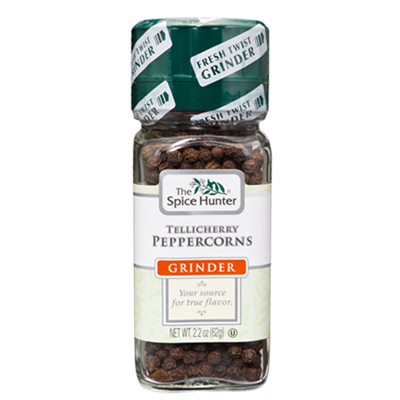 Spice Hunter Black Tellicherry Peppercorns 2.2 Ounce