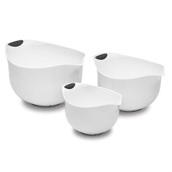 Cuisinart BPA-free White Mixing Bowls, Set of 3