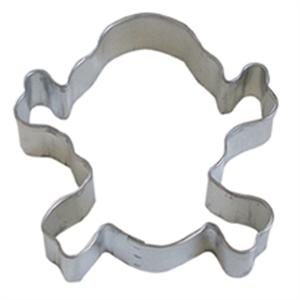 Skull And Crossbones TBK Cookie Cutter 3.5 Inches