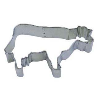 TBK Cow  Cookie Cutter