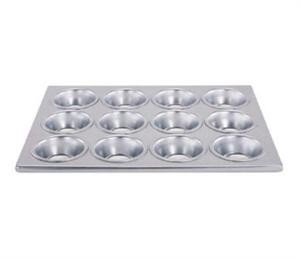 Winco 12 Cup Commercial Aluminum Muffin Pan