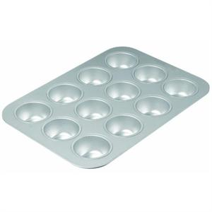 12 Cavity Stainless Steel Muffin Pan