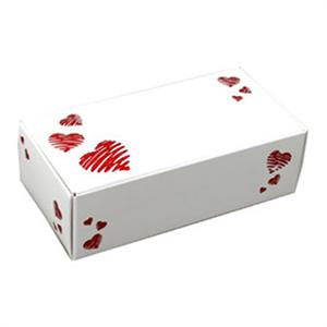 Glitter Hearts One Piece Folding Candy Box