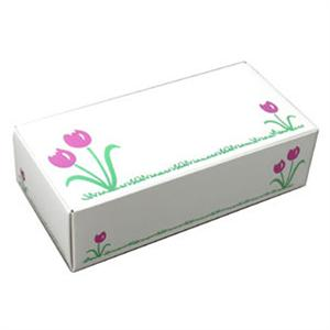 Tulip Design One Piece Folding Candy Boxes