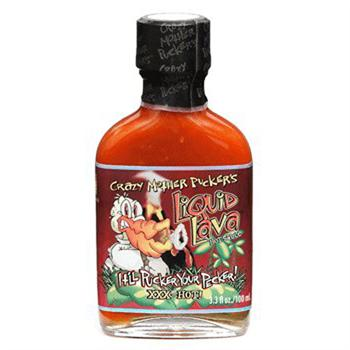 Crazy Mother Pucker's Liquid Lava Hot Sauce, 3.3 Ounce
