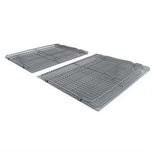 Calphalon Nonstick 4-Piece Large Cookie Sheet & Cooling Rack Set