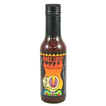 Holy Shit Habanero Hot Sauce, 5 Ounce