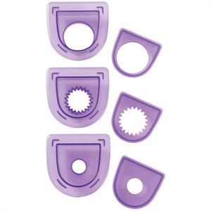 3-Pc. Layered Circles Cutting Insert Set
