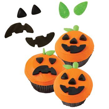Wilton Jack-O-Lantern Cookie & Cupcake Decorating Kit