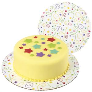 Wilton Party Swirl Fashion Cake Boards