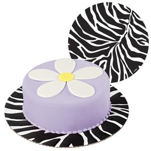Wilton Zebra Fashion Cake Boards