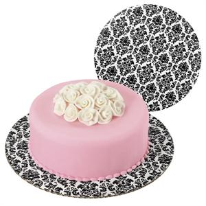 Damask Fashion Cake Boards