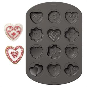 Wilton Valentine Cookie Shapes Pan