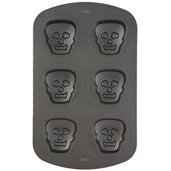Wilton Non-Stick Mini Skulls Pan
