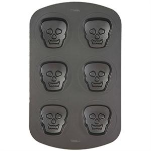 Non-Stick Mini Skulls Pan