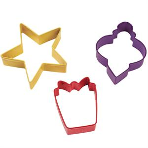 Wilton 3-Pc. Holiday Cutter Set