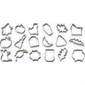 Wilton 18-Pc. Halloween Metal Cookie Cutter Set