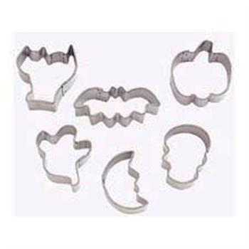 Wilton Halloween Mini Metal Cutter Set - 6 Piece