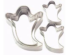 Wilton Nesting Ghosts Metal Cutter Set - 4 Piece