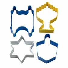 Wilton Hanukkah Metal Cutter Set