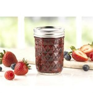 Ball 8-oz. Quilted Crystal Jelly Jars, Set of 12