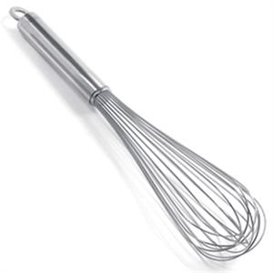 Krona Stainless Steel 15-Inch Balloon Whisk 12 Wires