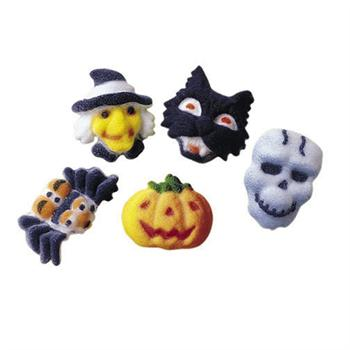 Lucks Halloween Mini Fright Assortment Sugar Decorations