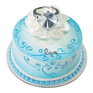 Decopac With This Ring Cake Kit